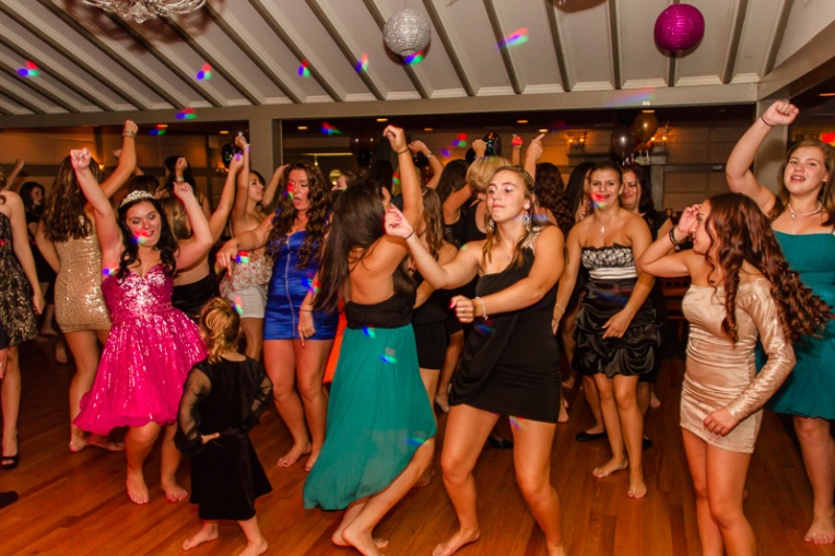 Craziness on the dance floor